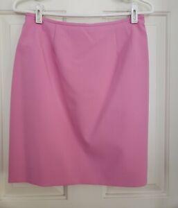 Kasper Petite Womens Skirt. Size 8P. Pink. Fully Lined.