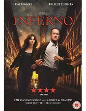 Inferno DVD 2016 Tom Hanks Felicity Jones
