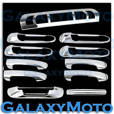 Dodge Ram 1500+2500+3500+HD Chrome 4 Door Handle+Tailgate+3rd Brake Light Cover