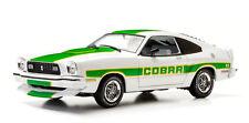 1:18 1978 Ford Mustang Ii Cobra Ii White with Green Billboard Stripes