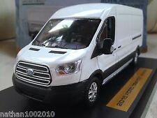 2015 Ford Transit Jumbo - White - Diecast Model Van 1/43 Greenlight