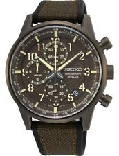 Seiko Gents Military Style Chronograph Watch - SSB371P1 NEW