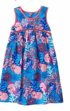 NWT Gymboree Mermaid Cove Seaprint dress Girls 6,7