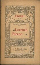 Lorenzo Sterne Rabizzani Giovanni Formiggini 1914