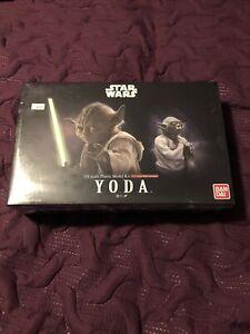 BANDAI Star Wars Yoda 1/6 scale plastic model kit MIB Sealed See Pics!