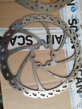 180mm 2 x Mountain Bike Disc Brake Rotor