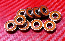 10pcs 688-2RS (8x16x5 mm) Metal ORANGE Rubber Sealed Ball Bearing 8*16*5 688RS