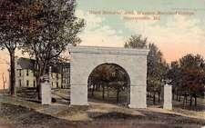 Westminster Maryland Ward Memorial Arch Western College Antique Postcard K25337