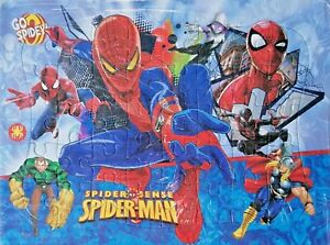Spider-man 40-Piece Drawing Spider Man Jigsaw Puzzle Best Gift for Kids -01