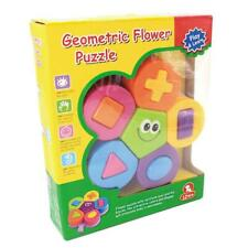 Geometric Flower Puzzle Play & Learn.