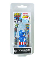 Pin Mates Captain America Wooden Figure #20 Marvel Classic New