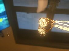 18ct Gold 0.50ct Ladies Diamond Cluster ring-Stunning Diamonds!