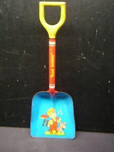 Vintage Pressed Steel Ohio Arts Happy Sandman Sandbox Toy Shovel