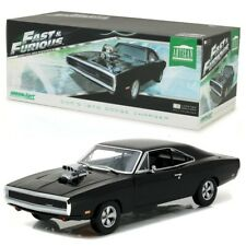 THE FAST AND THE FURIOUS 1:18 1970 DODGE CHARGER GREENLIGHT - OFFICIAL