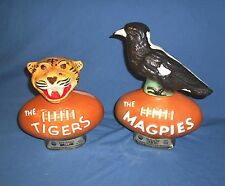 RARE 1977 Vintage Jim Beam Decanter LOT TIGERS  MAGPIES COLLINGWOOD AFL Football