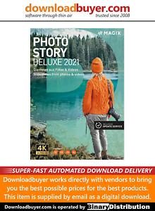 MAGIX Photostory 2021 Deluxe - [Download]
