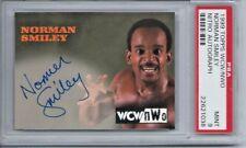 1999 Topps Nitro WCW/NWO Norman Smiley Autograph PSA 9 Mint