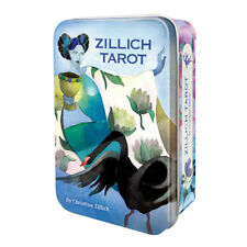 NEW Zillich Tarot Deck in Collectible Tin US Games Mini Cards Travel Size!