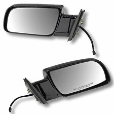 88-98 CHEVY GMC PU PICKUP TRUCK Door Mirrors BLACK Power LEFT RIGHT Side SET