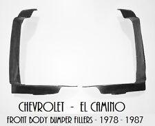 El Camino Front Body Bumper Fillers 78 79 80 81 82 83 84 85 86 87