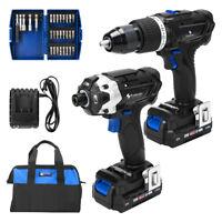 20V Max Cordless Drill and Impact Driver Combo Kit, PROSTORMER