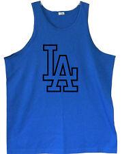 LA Dodgers Logo Men's Tank Tops (S / M / L / XL) *2XL / 3XL Sizes