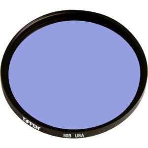 New Tiffen 55mm 80B Blue Color Conversion Glass Filter MFR # 5580B