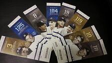 09/25/2014  New York Yankees Derek Jeters Final Home Game TICKET STUBS