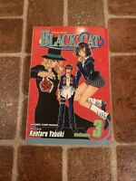 Black Cat Volume 3 English Manga Kentaro Yabuki Viz Shonen Jump FREE SHIPPING
