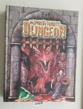D&D 3.5 The World's Largest Dungeon Maps New in Shrink NM
