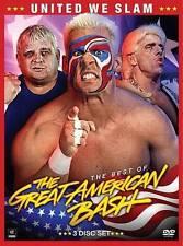 WWE: United We Slam - The Best of Great American Bash (DVD, 2014, 3-Disc Set)