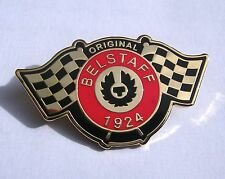 ORIGINAL BELSTAFF TRIALMASTER ROADMASTER MOTORCYCLE BIKER JACKET PIN BADGE