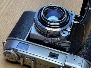 Kodak Retina IIIc - wunderschöner Fotoapparat-Klassiker