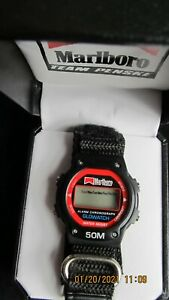 VINTAGE MARLBORO TEAM PENSKE WATCH