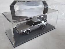 NEO 1/43 Porsche 911 Turbo 3,3 Typ 930 1978–1989 USA silver 43256 OVP > UMBAU !