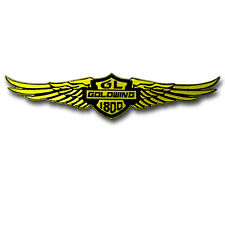 Big GL Goldwing 1800 Patch Embroidered Iron on Emblem Motorcycle Honda Gold Wing