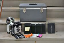 Graflex Speed Graphic Crown Graphic Special 4x5 camera Kit, Xenar 135mm 1:4.7