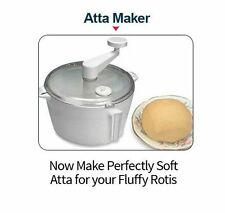 Dough Kneader Atta Maker for Roti /Chapati/Tortilla with Free Measuring Cups