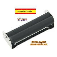 MAQUINA DE LIAR CIGARRILLOS ROLLING METAL 110mm RASTA TABACO FUMAR ENROLAR PAPEL