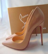 Christian Louboutin So Kate Nude Patent Size 40