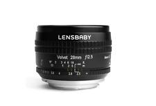 Lensbaby Velvet 28 28mm F2.5 Lens Nikon F mount from Japan New free Shipping