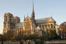 NOTRE DAME CATHEDRAL *2X3 FRIDGE MAGNET* PARIS FRANCE CHURCH CATHOLIC ICON SEINE