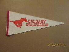 CFL Calgary Stampeders Vintage Running Horse Pennant #2