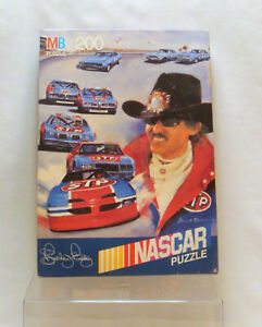 Richard Petty NASCAR Puzzle Vintage 1991 Sealed in Box 200 Piece