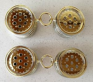 Tamiya Hot Shot/Super Shot/Super Hotshot Gold Wheels (4 Pcs.) 9335020/19335020