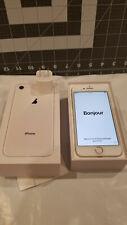 Apple iPhone 8 - 256GB - Silver (Unlocked) A1863 (CDMA   GSM) MQ7Y2LL/A