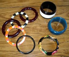 Fashion Bangle Bracelets ~ Set of 8 ~