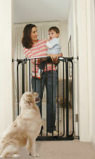 """Dream Baby L782B Chelsea Extra Tall Safety Gate and Extensions 28"""" - 42.5"""" Black"""