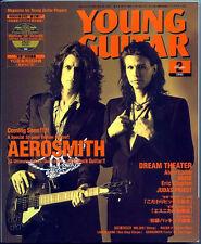 Young Guitar Feb/02 AEROSMITH John Petrucci Mattias IA Clapton Priest Bodom Alex