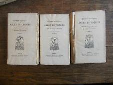Oeuvres poétiques de André de Chénier tomes 1, 2, 3 / Alphonse Lemerre